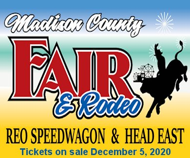 REO Speedwagon and Head East at the 2021 Madison Co. Fair
